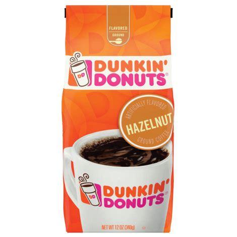 Coffee, ground, cold brew, coffee packs. DUNKIN' DONUTS 12 oz Hazelnut Light Roast Ground Coffee by DUNKIN' DONUTS at Fleet Farm