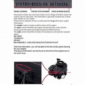 Genuine Briggs And Stratton Part Number 498809 Carburetor