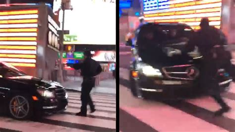Times Square Hit And Run bronx arrested for nypd hit and run in times square