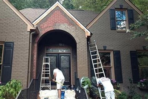 Best Can You Paint Exterior Brick Pertaining To Bes #16283