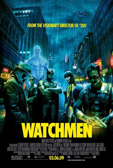 watchmen  posters watchmencomicmoviecom