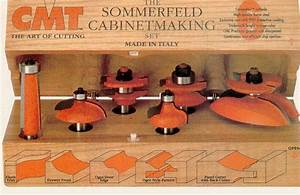 CMT Cabinet Making Router Bit Set 800 515 11 - Mike's Tools