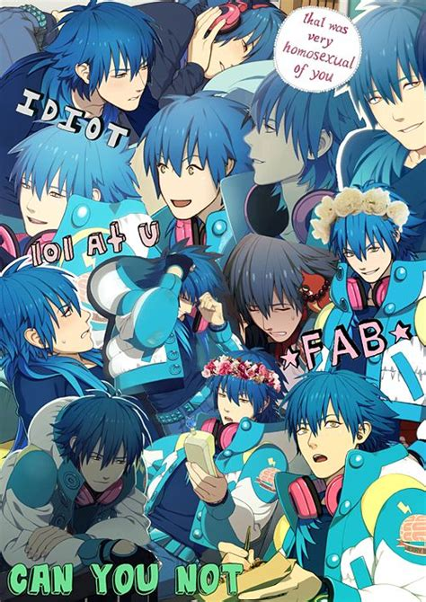 Anime Collage Wallpaper - dramatical murder aoba wallpaper collage
