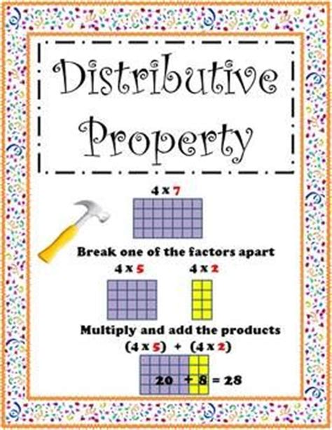 25 best ideas about distributive property of