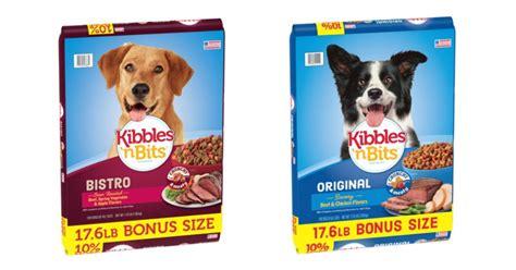 kibbles  bits dog food   walmart frugal finds