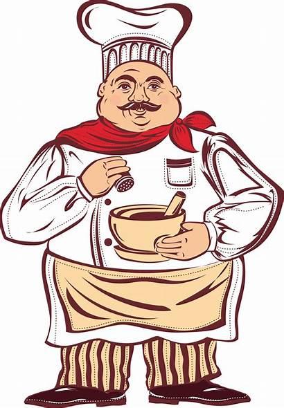 Menu Cook Chef Cartoon Clipart Clip Drawing