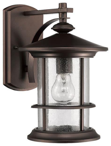 superiora 1 light outdoor wall sconce rubbed