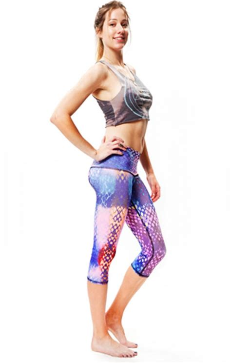 teeki mermaid yoga capri inspiremyworkoutcom