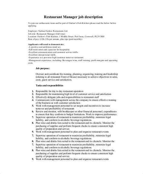 customer service manager resume description customer service manager description technical support description pdf technical