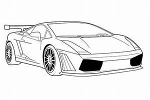 How to draw a Lamborghini: For Beginners, Aventador, Huracan