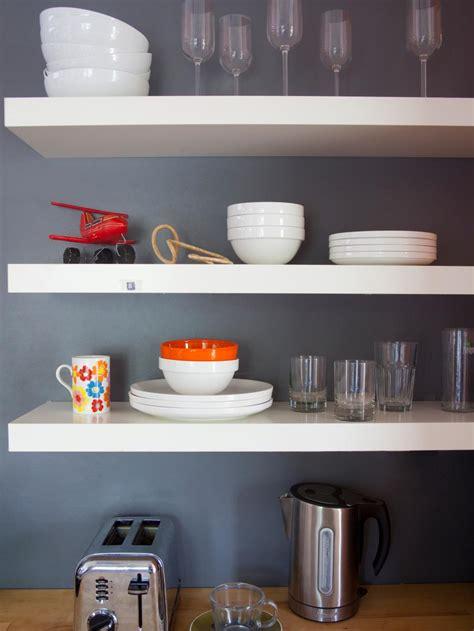 images  beautifully organized open kitchen shelving diy