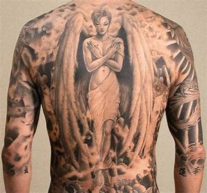 50 Sexy Angel Tattoo Designs