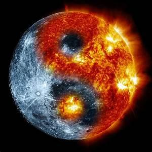 Moon Sun Yin Yang By De3euk On Deviantart