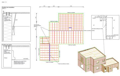 Plan Canapã Bois Plans D Exécution Structure Bois