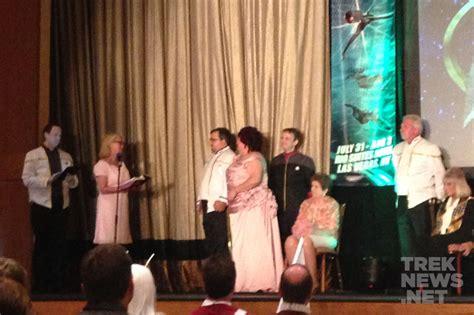 Star Trek Fans Wed At Las Vegas Convention