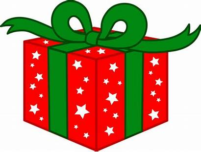 Christmas Clipart Gift Tree Cliparts Xmas Borders