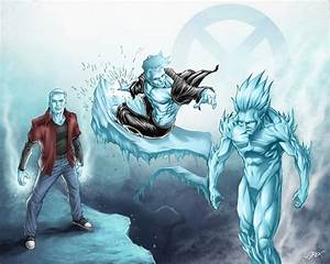 (2nd place!!!) Iceman | X men (For Spacegames's contest ...