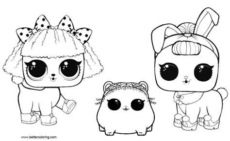 lol pets coloring pages  pets  printable