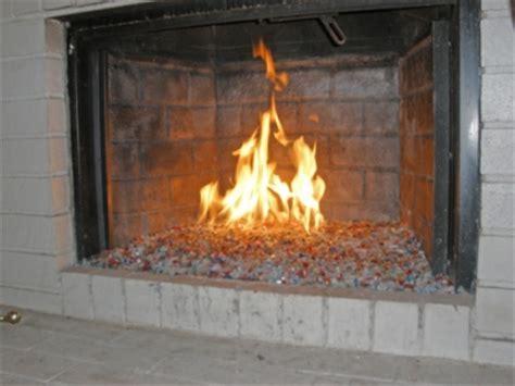 fireplace glass rocks amazingglassflames how not to do it fireplace glass