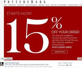 danis decadent top deals of the week 2 14 13 2 20 13 With 15 pottery barn coupon code
