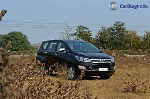 toyota innova crysta test drive review CarBlogIndia