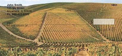 Sprawling Checks Vineyards Landscape 123cheapchecks