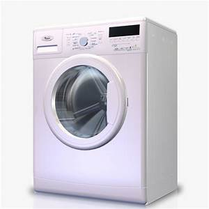 3d Model Washingmachine Whirlpool Awss73413