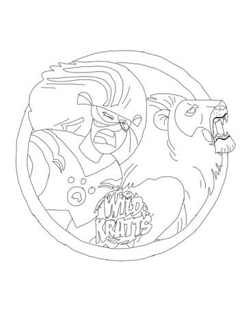 wild kratts coloring pages getcoloringpagescom