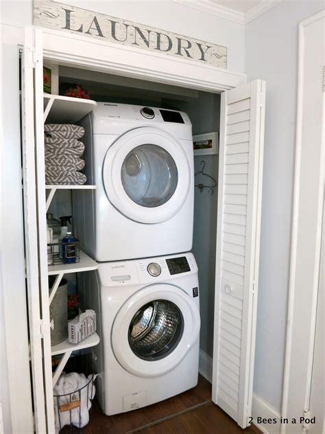 laundry closet makeover reveal laundry closet makeover