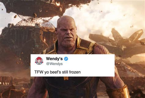 Disappearing Meme - wendy s twitter got savage on mcdonald s with disappearing avengers meme thrillist