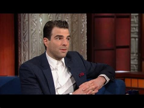 zachary quinto colbert zachary quinto remembers leonard nimoy late night feud
