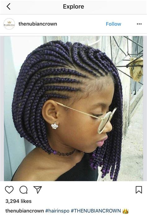 the m ther on hair black girl braided hairstyles kids