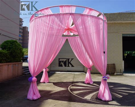 portable pipe and drape stands for wedding backdrop curtains