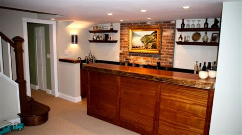 Building A Bar In Your Basement  Angie's List