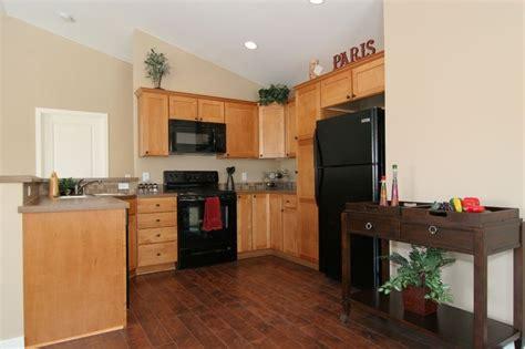 i want dark hardwood floors but have light cabinets it