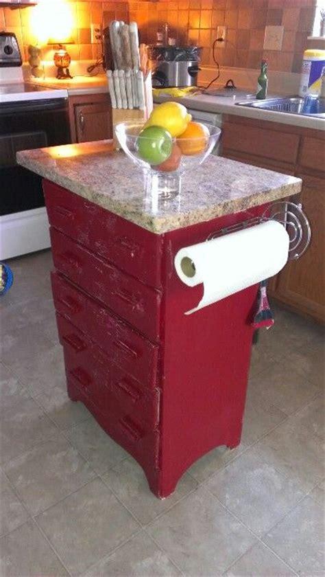repurposed kitchen island repurposed dresser into a kitchen island furniture