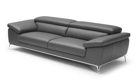 Ebony Plush Two Seater Office Sofa In Leather Boss's Cabin