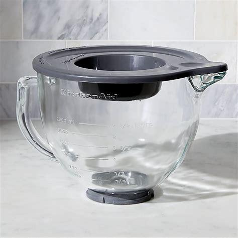 Kitchenaid Mixer Glass Bowl by Kitchenaid 174 Stand Mixer Glass Mixer Bowl Crate And Barrel