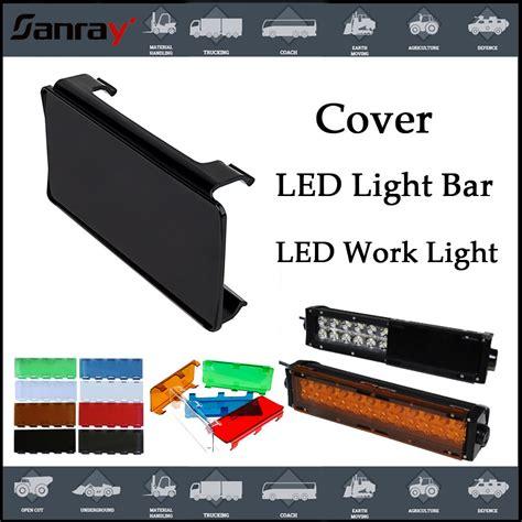 Led Light Bar Covers by Multi Color Led Light Bar Cover For Road Led Light Bar