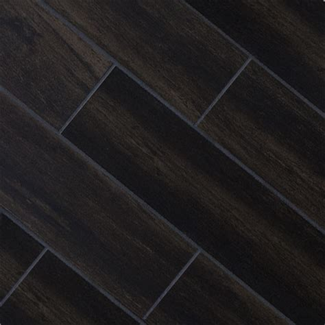 black wood look tile black oak wood plank porcelain modern wall and floor tile other metro by tile stones
