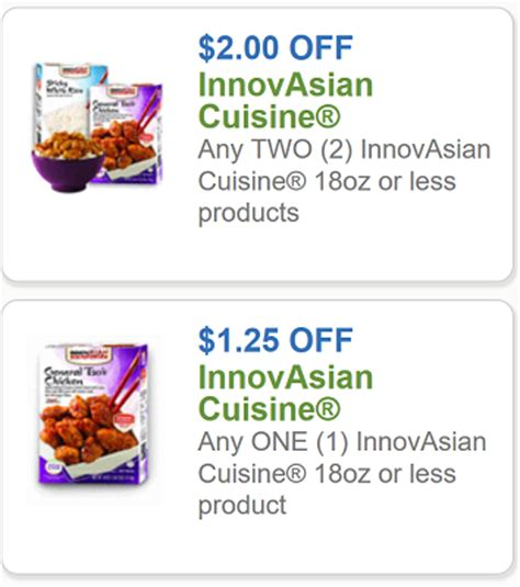 code promo cuisine store innovasian coupon 1 25 any one innovasian cuisine product
