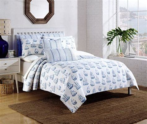 max studio nautical sailboat design bedspread 3pc full