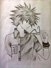 Cool Anime Guy Drawings
