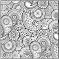 Patterns For Adults - Free Colouring Pages