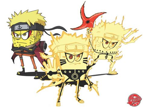 Naruto Modes By Antzartgraphic On Deviantart