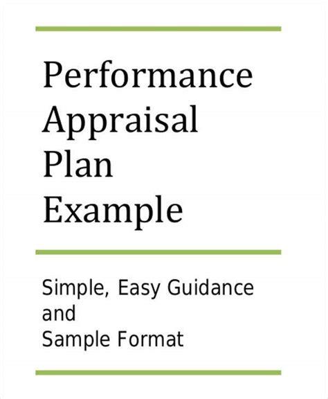 performance action plan templates  sample