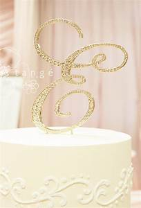 a z gold metal rhinestone cake topper letters a b c d e f g h With rhinestone letters for cakes