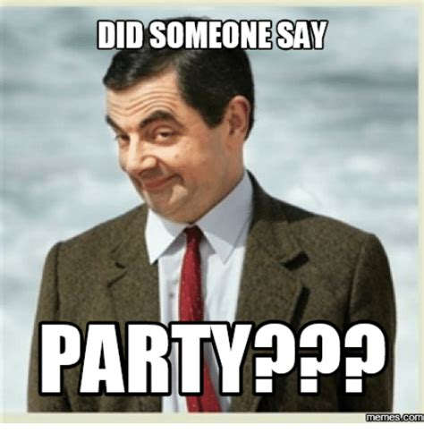 Meme Party - didsomeonessay party memes com did somebody say meme on sizzle