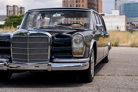 It was intended to be driven by a. The Mercedes-Benz 600 Pullman Limousine An Iconic Model ...