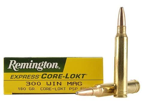 Remington Express Ammo 300 Winchester Mag 180 Grain